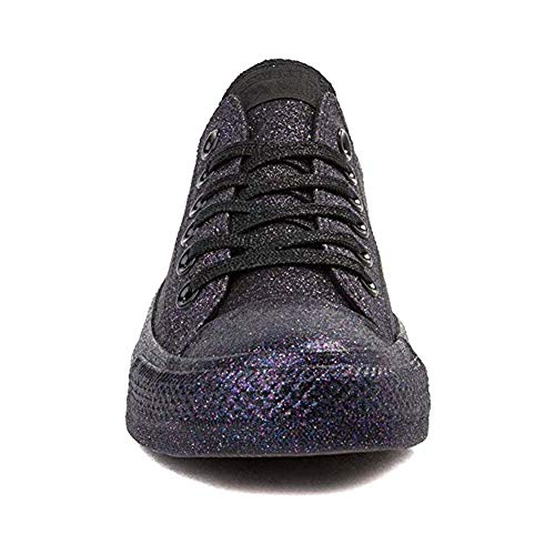 Converse Chuck Taylor All Star (Mens 6/Womens 8, Glitter Black 9594) -