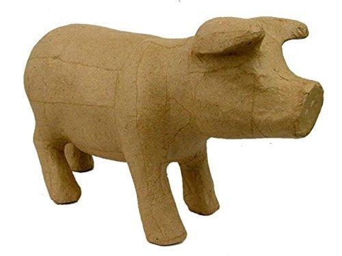 Standing Pig - Craft Ped Paper CPL1007002 Mache Standing Pig
