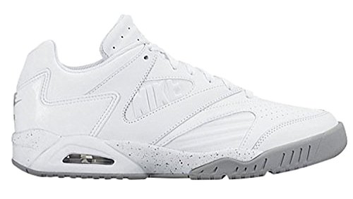 Nike Herren Air Tech Challenge IV Low White / WolfGrey 727110-100 (GRÖßE: 11.5)