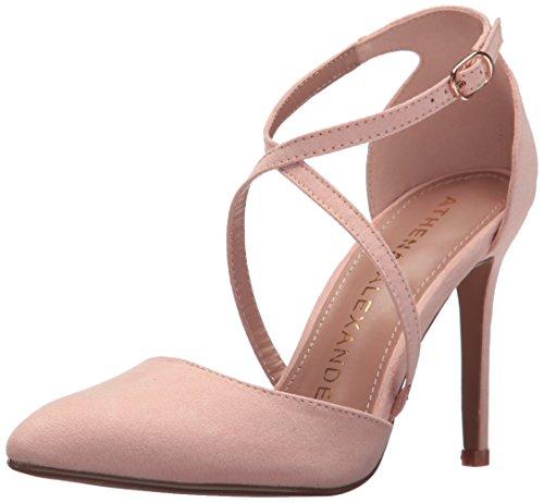 Blush Monett Athena Alexander Sandal Dress Suede Women's WUXxw84Exq