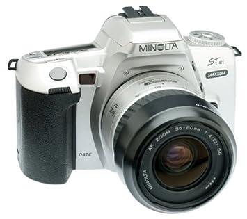 Amazon.com : Minolta Maxxum STsi Panorama Date 35mm SLR Camera Kit ...