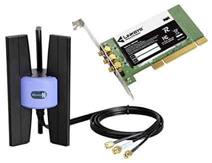amazon com cisco linksys wireless n pci adapter wmp300n electronics