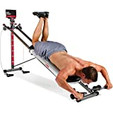 Total Gym 1400 Deluxe Home Fitness Exercise Machine Equipment with Workout DVD