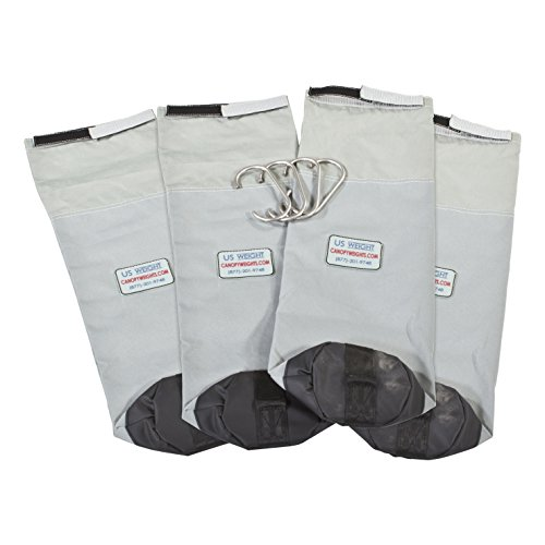US Weight Cornerstone Weight Bags Secure Tents, Canopies, and Umbrellas at Outdoor Events