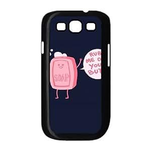 Soap Butt Samsung Galaxy S3 Case, [Black]