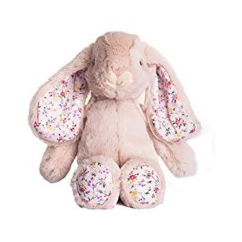 "Dilly dudu 10""Blossom Bunny Stuffed Animal Plush Toy(beige)"