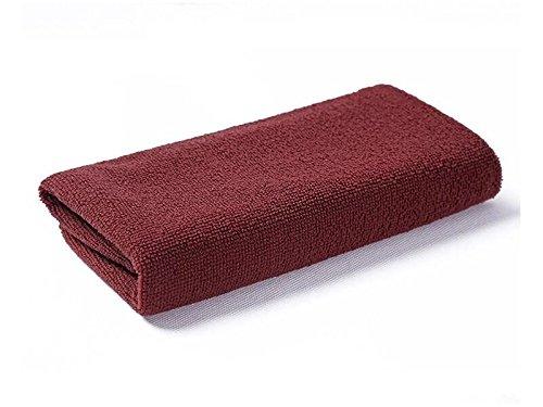 Multifunctional Tool Microfiber High Absorbent Lint Streak Non Slip Skidless Sport Cleaning Turban Towel (Coffee)