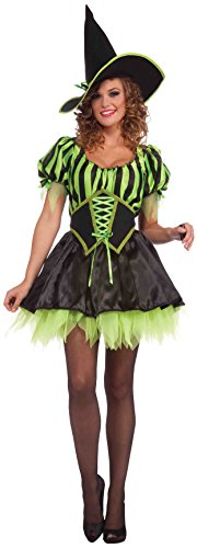 Forum Novelties Women's Emeralda The Witch Costume, Green, One Size