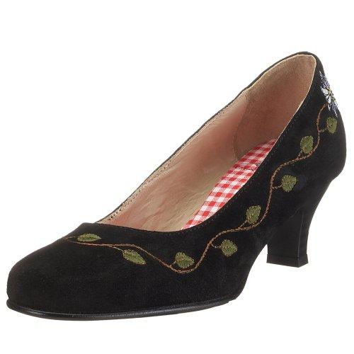 Diavolezza - VERA, Scarpe col tacco classiche donna, color Nero (Black), talla 36