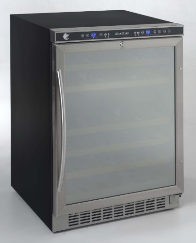Avanti WCR-5404DZD Built in Beverage Cooler 46 bottle, 24