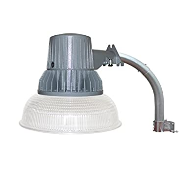 LED Barn Security Flood Light, Dusk to Dawn Sensor, Outdoor Waterproof Fixture, 40W, 4000 Lumens, 5000K Daylight, 120V, RoHS Compliant, ETL Listed