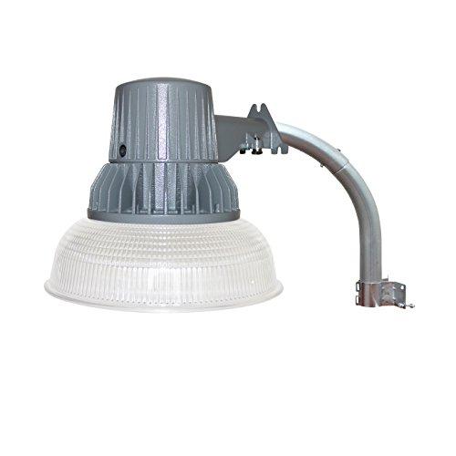 LED Barn Security Flood Light, Dusk to Dawn Sensor, Outdoor Waterproof Fixture, 40W, 4000 Lumens, 5000K Daylight, 120V, RoHS Compliant, ETL Listed ()