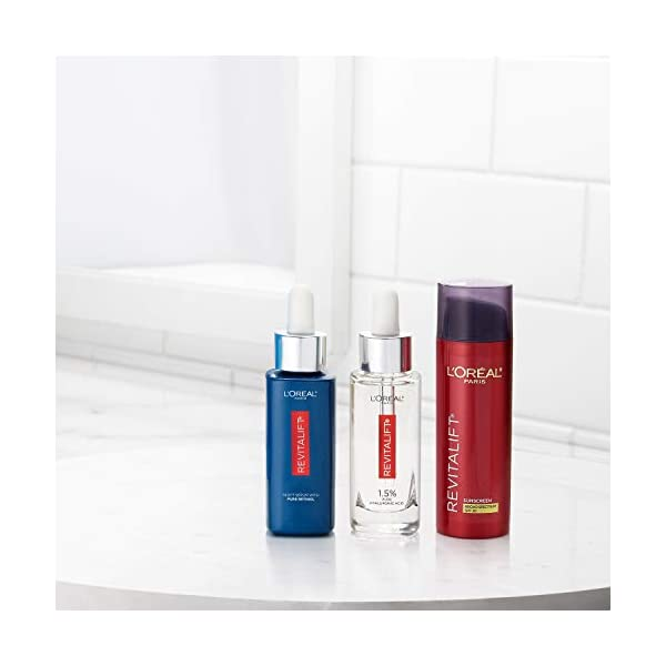 L'Oreal Paris Skincare RevitaliftTriple Power Broad Spectrum SPF 30 Sunscreen, Face Moisturizer with Pro-Retinol…