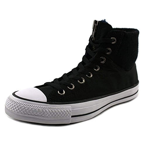 Converse Mens Chuck Taylor MA-1 Zip Hi Black/White 149398C-001 (SIZE: 7) (Platinum High Tops compare prices)