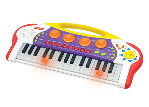 Treasure Box Piano - Fisher-Price Music - Keyboard/Piano - Teaching Keys Keyboard - Record and Playback - Learn to play piano