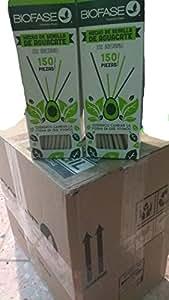 Popotes Biodegradables Hechos Con Semilla De Aguacate 15