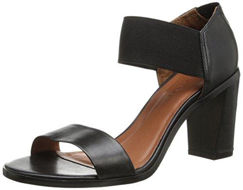 Bernardo Women's Helen Dress Sandal,Black Calf,7 M US