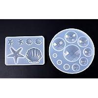 Zeagro 2 x Molde de Silicona para Resina