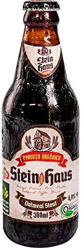 Cerveja SteinHaus Oatmeal Coffe Stout 300ml Stein Haus 300 ml