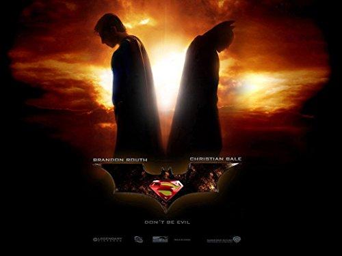 Superman vs Batman 2015 poster 32 inch x 24 inch / 17 inch x 13 inch