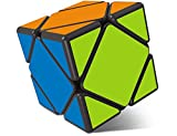 Playwin Skewb Speed Cube Puzzle New Generation 3x3 Abnormity Color Cube (Black)