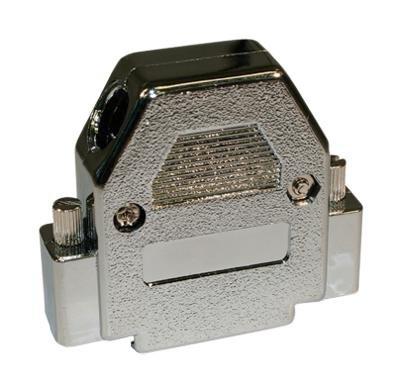 NORCOMP 993-025-020R121 D Sub Backshell, 993 Series, DB, 45¡ã, ABS (Acrylonitrile Butadiene Styrene) Body