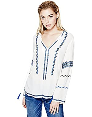GUESS Debbie Long-Sleeve Tunic