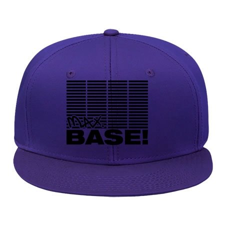 [Fashion Adjustable Purple Cotton Hip Hop Cap Snapback Max_base_t1 Hat (male/female)] (Pork Pie Hat For Sale)
