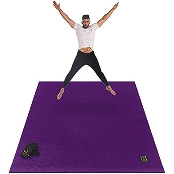 Amazon.com: Esterilla de yoga premium grande – 6 pies x 4 ...