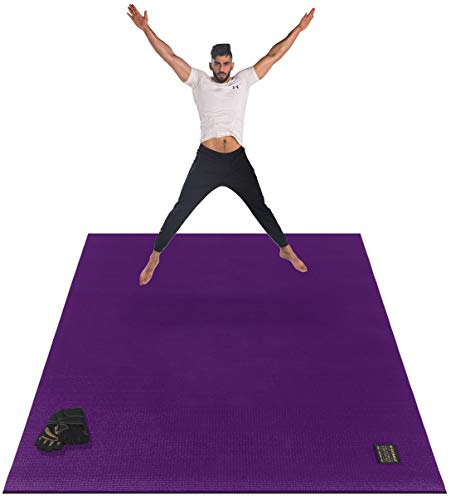 - Gxmmat Large Exercise Mat 6'x 4'x 7mm Ultra Durable,Non-Slip,Thick Workout Mats for Home Gym Flooring- Plyo,MMA,Jump,Gymnastics,Cardio Mat