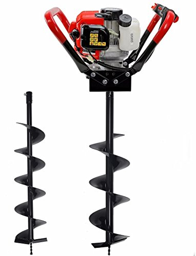 23-hp-gas-powered-post-hole-digger-with-2-auger-bits-6-10-55cc-power-engine-brand-new