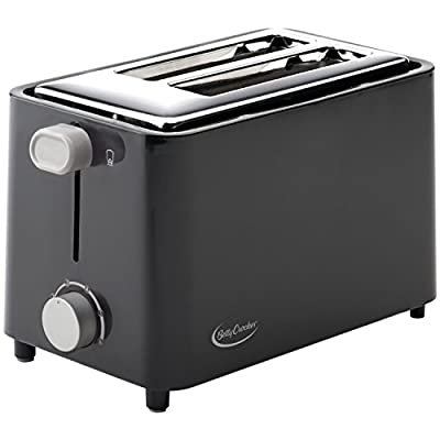 Betty Crocker BC-2605CB 2-Slice Toaster, Black