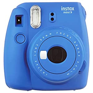 Fujifilm Instax Mini 9 Instant Camera Ice Blue w/ Fujifilm 120 Film Pack