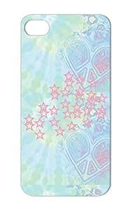 Shatterproof Symbols Shapes Stars For Iphone 5s Pink Protective Hard Case