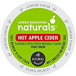 Green Mountain Naturals Hot Apple Cider, K-Cup Portion Count for Keurig K-Cup Brewers, 24-Count (Packaging May Vary)