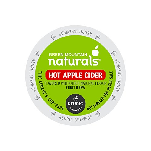 Green Mountain Hot Apple Cider single serve capsules for Keurig K-Cup pod brewers, 24 Count (Best Cider Apple Varieties)