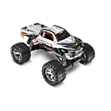 Traxxas Stampede 1/10 Scale 2WD Monster Truck with TQ 2.4GHz Radio, Silver