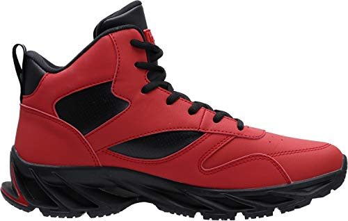 JOOMRA Men's Stylish Sneakers High Top Athletic-Inspired Shoes