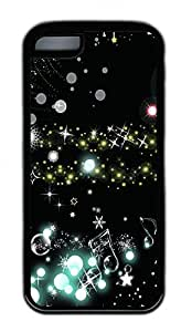 The World Of The Notes Lovely Mobile Phone Protection Shell For iPhone 5c Cases - Unique Cool Black Soft Edge Case