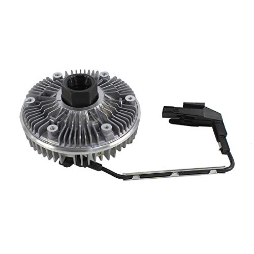 DNJ FCA1004E NEW Fan Clutch Assembly for 2008-2010 / Ford/F-250, F-350, F-450, F-550, Super Duty / V8 / 6.4L / Turbo-Diesel ()