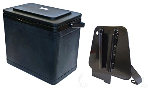 RHOX Insulated Large Capacity 11.75 Quart Cooler for Club Car Precedent Driver Side Mount