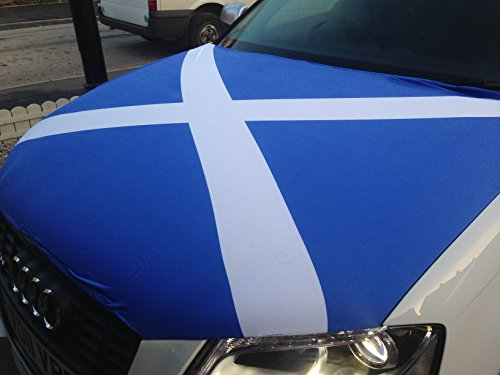 Scotland Car Bonnet Flag: