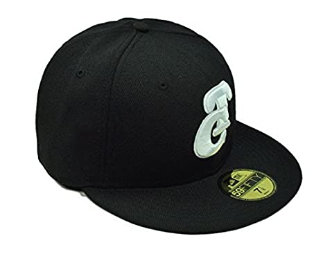 Amazon.com : New Era 59fifty Fitted Hat Pacific League Tomateros De Culiacan Mens Cap Black/white (7 7/8) : Sports & Outdoors