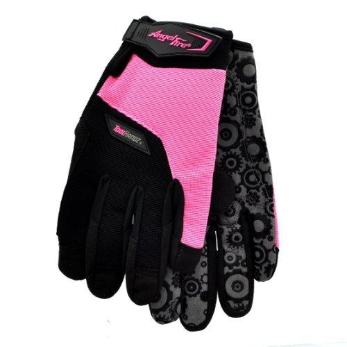 Revco GX103-MD AngleFire Syn. Leather w/Spandex Women's Mechanic's Glo by Revco