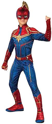 DISBACANAL Disfraz Capitana Marvel para niña - -, 5-7 años: Amazon ...