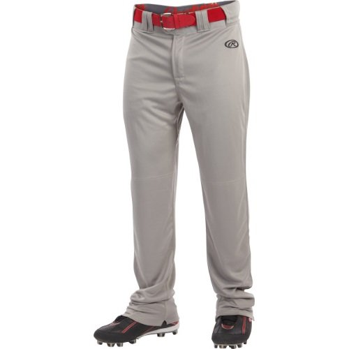 Boy's Rawlings Sporting Goods Boys Youth Launch Pant, Grey, Large (Rawlings Boys Baseball Pants)