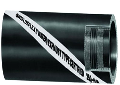 Sierra International Sierra 116-250-4001 Shields Shieldsflex II Water/Exhaust Hose With Wire - 4