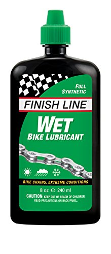 Finish Line Wet Bike Lubricant Squeeze Bottle  8 Oz