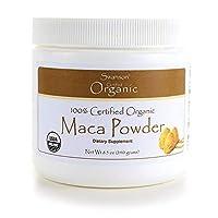 Swanson 100% Certified Organic Maca Powder 8.5 Ounce (240 g) Pwdr