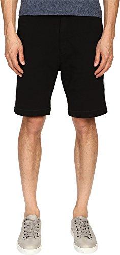 Marc Jacobs Men's New Cotton Felpa Shorts, Black, XL X 10 by Marc Jacobs